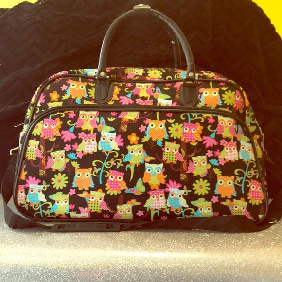 5441bc652c Handbags - Owl duffle bag 🦉